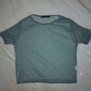Brandy Melville Mesh Shirt